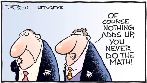 Negative Returns Are Now In US Mortgages - 03.19.2019 did do the math cartoon  4