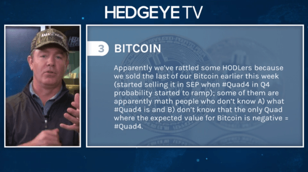McCullough: Market History? #Quad4 = Rising Probability Of Bitcoin Crash - 10 8 2020 1 32 22 PM