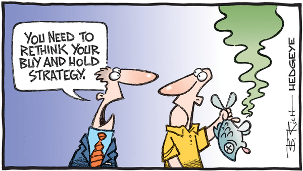 Cartoon of the Day: Buy & Hold  - 10.12.2020 buy and hold cartoon