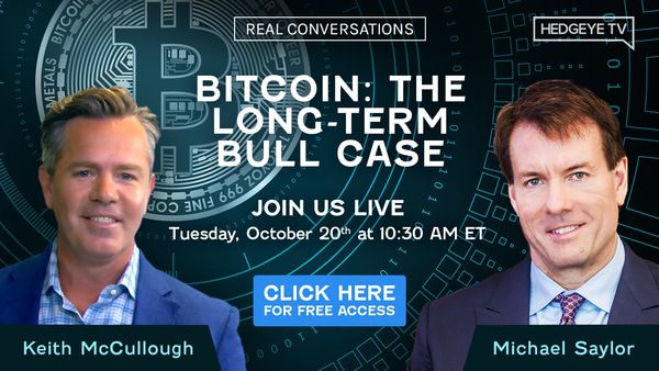 [WEBCAST] Michael Saylor On Bitcoin: The Long-Term Bull Case - RealConversations FreeAccess Bitcoin