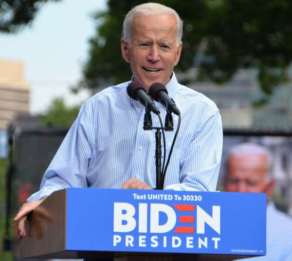 What Will A Biden Victory Mean For Healthcare Policy?  | Politics, Policy & Power - Joe Biden kickoff rally May 2019