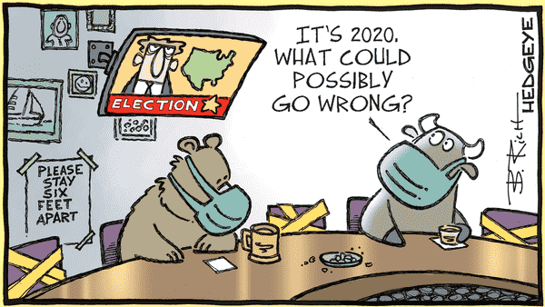 Cartoon of the Day: Election Day  - 11.03.2020 election cartoon