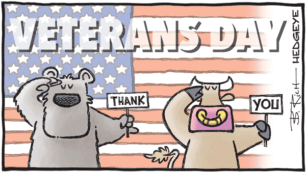 Cartoon of the Day: Salute  - 11.11.2020 veterans day