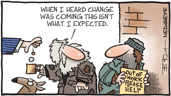 Initial Unemployment Claims Remain Dauntingly High (11/12) - 11.02.2020 jobless cartoon