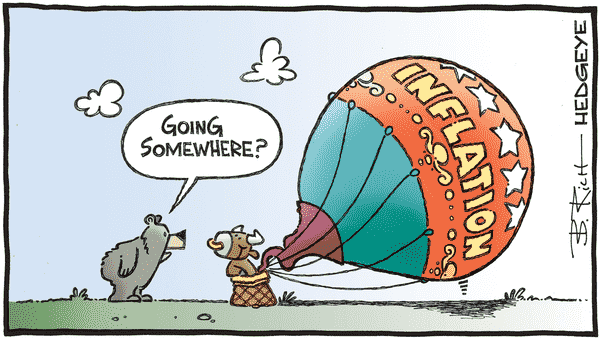 Cartoon of the Day: Up And Away - 12.01.2021 inflation cartoon