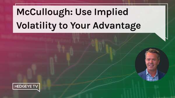 McCullough: Use Implied Volatility to Your Advantage - TMS iVOL 1.19.2021