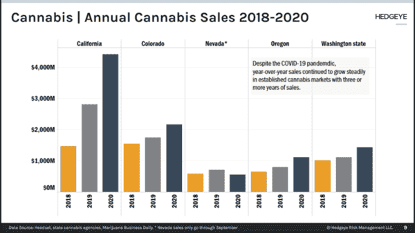 Record Year For Cannabis In 2020 - cn1