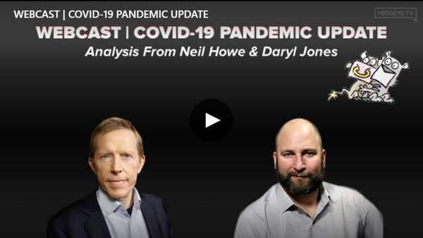 HAPPENING NOW | COVID-19 Pandemic Update: Analysis From Neil Howe   - BB Covid19 Update