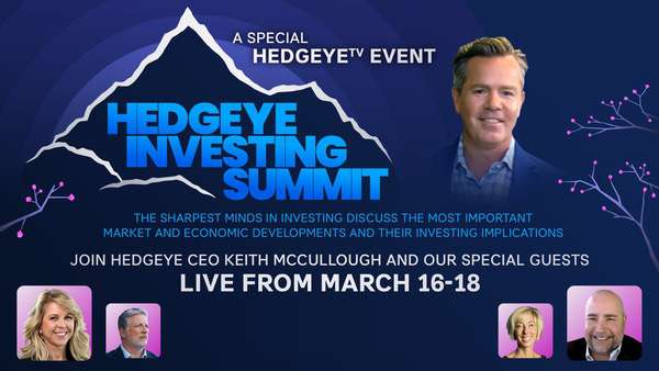 Hedgeye Investing Summit (A HedgeyeTV Special Event) - Billboard no button