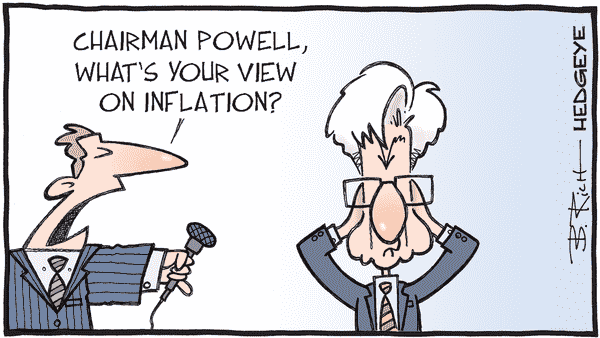 Cartoon of the Day: See No Inflation - See No Inflation