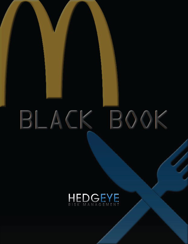 MCD - THE BLACK BOOK - mcd black book cover